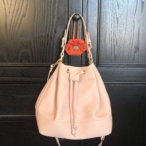 NEW Italian designer ANDREANO pink leather bag!